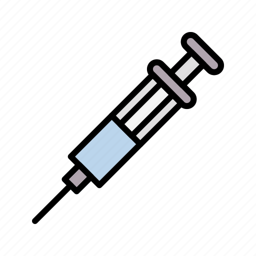infection, injection, medical, vaccine icon