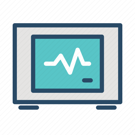 beat, heart, medical, monitor, rate icon