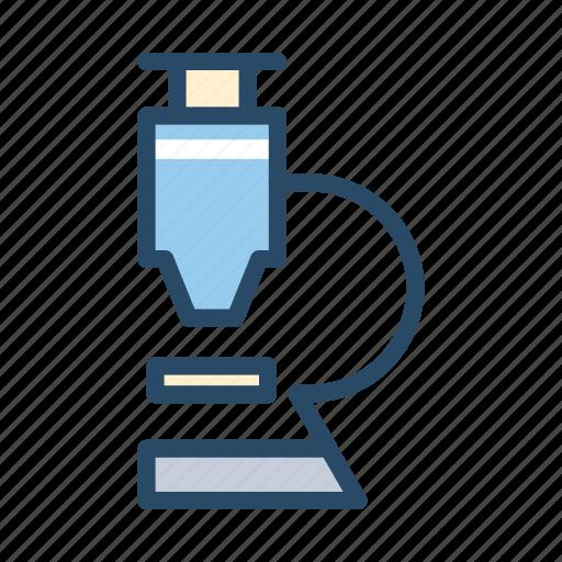 lab, medical, microscope icon
