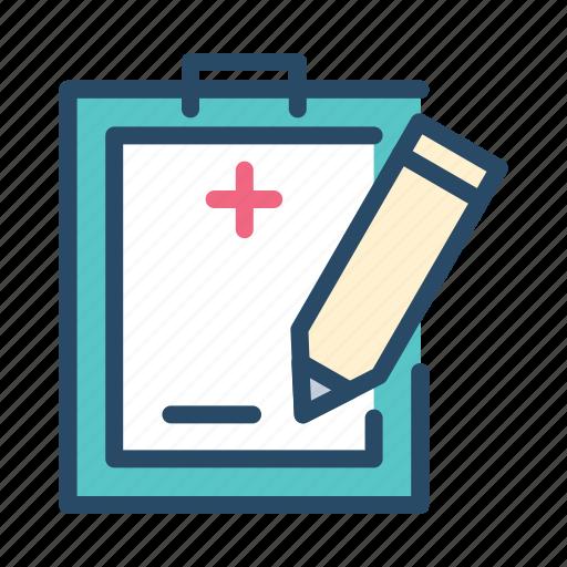 agreement, data, medical, signature, subscription icon