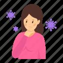 corona symptom, sickness, sore, sore throat, throat inflammation, throat pain, tonsils icon
