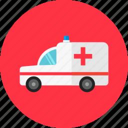 ambulance, doctor, emergency, healthcare, hospital, medical, medicine icon
