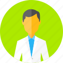 doctor, dr, male, man, person, profile, user icon