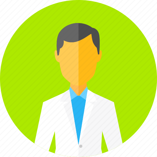 doctor, dr, male, man, person, profile, user icon
