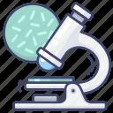bacterium, microscope, science, virus icon