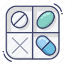 box, container, medical, pill icon