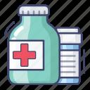 drugs, pharmacy, prescription icon