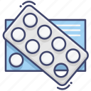 drugs, pills, tablet icon