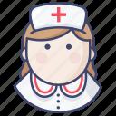 hospital, medical, nurse icon