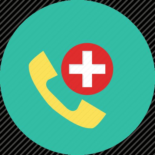 ambulance, emergency, hospital, support icon