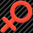 faminini, female, female sign, female symbol, gender, inheritance, sex