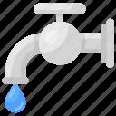 faucet, kitchen faucet, plumbing, water, water spigot, water tap, water usage