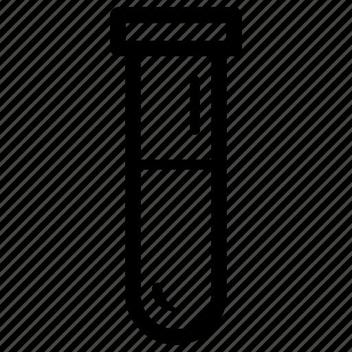 analysis, beaker, blood, laboratory, measure, test, tube icon