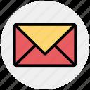 envelope, letter, mail, medical letter, message icon