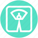 machine, management, scale, weight, weight machine, weight scale icon