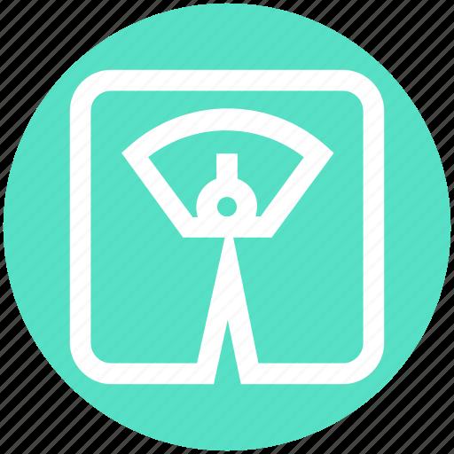 machine, management, scale, weight, weight machine, weight scale icon