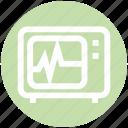 .svg, cardiogram, ekg, healthcare, medical, medical screen, test