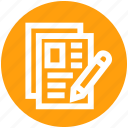 .svg, archive, document, file, page, paper, pen