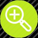 .svg, dental exam mirror, dental health, dentist tool, mirror, mouth mirror, plus icon