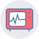 cardiogram, ekg, healthcare, medical, medical screen, test icon