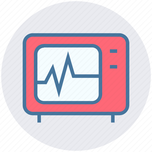 cardiogram, ekg, healthcare, medical, medical screen, test icon