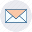 envelope, letter, mail, medical letter, message icon