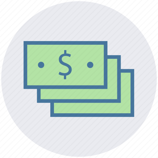 cash, dollars, money, payment, revenue icon