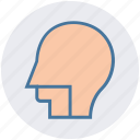 brain, doctor, head, hospital, human head icon