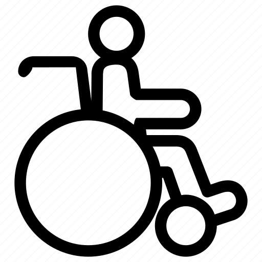 accessible, chair, disability, disabled, handicap, sick, wheelchair icon