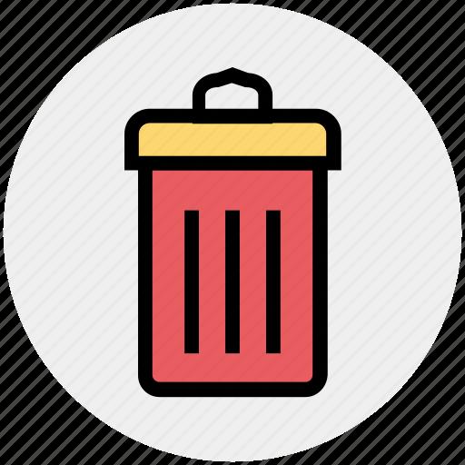 delete, dustbin, medical, trash, waste bin icon