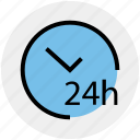 customer, hours, open, support, time icon