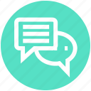 .svg, chatting, communication, conversion, messages, sms, typing icon