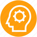 .svg, brainstorming, cog, gear, head, logic, strategy icon