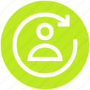 .svg, avatar, loading, processing, recycling, synching, user icon