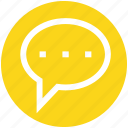 .svg, chat, communication, conversion, message, sms, typing icon