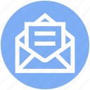 .svg, envelope, letter, mail, message, open letter icon