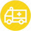 .svg, ambulance, fast, speed, transport, vehicle, velocity icon