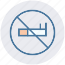 cigarette, healthcare, no, no smoking, prohibited, smoking icon