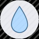 blood, drop, liquid, oil, water, wet icon