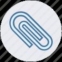 attachment, clip, clipboard, documents clip, paper clip icon