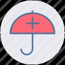 health care, medical care, medical insurance, umbrella icon