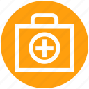 .svg, first aid, first aid kit, healthcare, medical bag, medical rescue, medicine bag icon