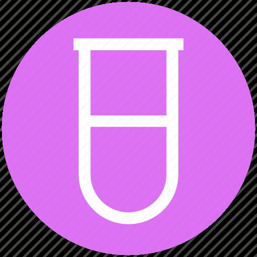 .svg, chemical, chemistry, culture tube, laboratory, sample tube, test tube icon