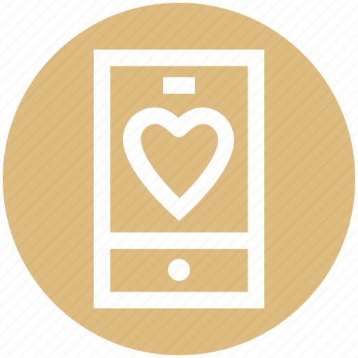 .svg, health, healthcare, heart, love, mobile, phone icon