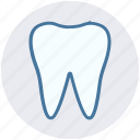 bacterial, caries, dental, dental caries, human tooth, tartar icon