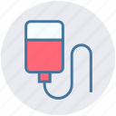 bottle, drip, infusion, medical, treatment icon