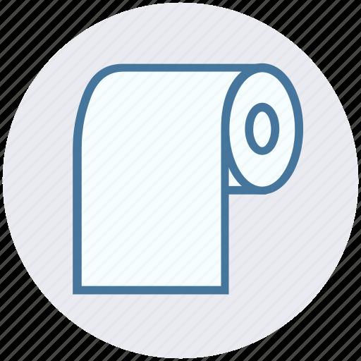 medical paper, medical roll, paper, paper roll, roll, tissue icon
