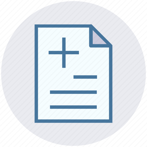 medical, medical paper, medical report, paper, records, report icon