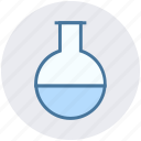beaker, chemistry, container, glassware, lab, laboratory object icon