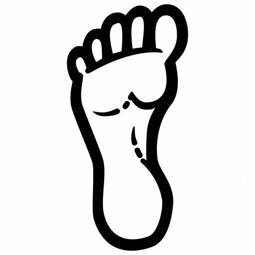 botton, extremity, foot, insoles, lower, part, track icon